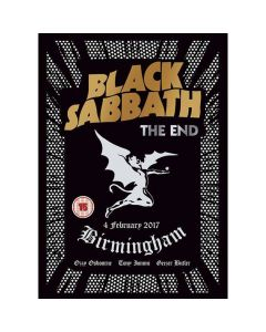 The End (Live In Birmingham) DVD