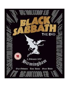 The End (Live In Birmingham) BLU-RAY