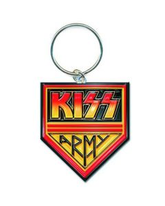 KISS - Army Pennant / Key Ring