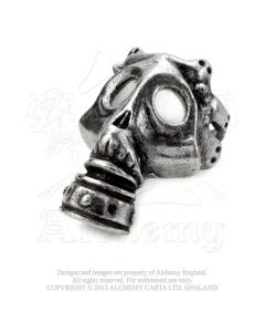 ALCHEMY ENGLAND - Asphyxia / Pewter Ring
