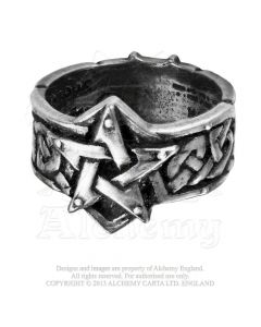 ALCHEMY ENGLAND - Celtic Theurgy / Pewter Ring