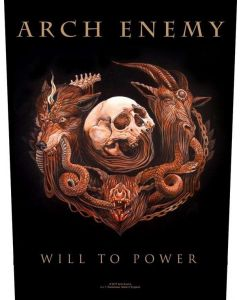 ARCH ENEMY - Will To Power / Backpatch
