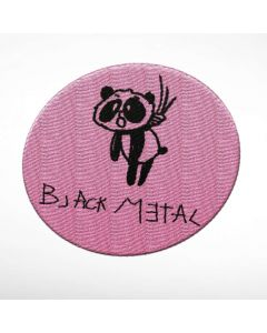HEAVY METAL HAPPINESS - Black Metal Panda / Patch