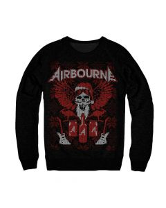 Airbourne XMas Sweater front