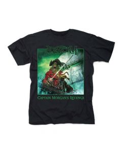 alestorm captain morgans revenge 10th anniversary edition shirt