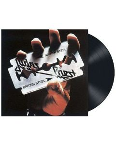 JUDAS PRIEST - British Steel / BLACK LP