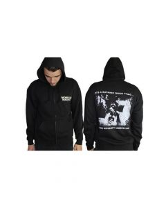 47679 monster magnet satanic drug thin zip hoodie