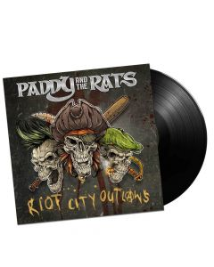 paddy and the rats riot city outlaws black vinyl
