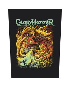 GLORYHAMMER - Dragon / Backpatch