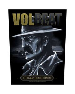 48244 volbeat outlaw gentlemen backpatch