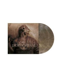 PRIMORDIAL - Exile Amongst The Ruins / CLEAR-GREY-BROWN MARBLED LP