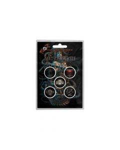 48719 meshuggah violent sleep of reason button badge pack