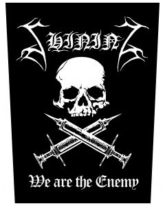 SHINING - We Are The Enemy / Backpatch