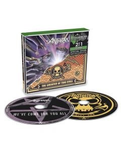 ANTHRAX - We've Come For You All & The Greater Of Two Evils / 2-CD