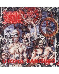 NAPALM DEATH - Utopia Banished / BLACK LP