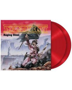 DEATHROW - Raging Steel / RED 2-LP