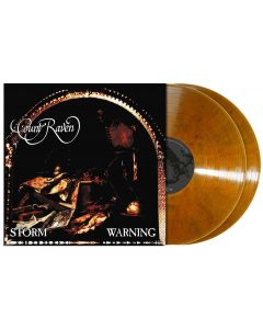 Storm Warning / CLEAR/RUSTY BROWN Marbled 2-LP Gatefold