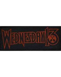49741 wednesday 13 logo patch