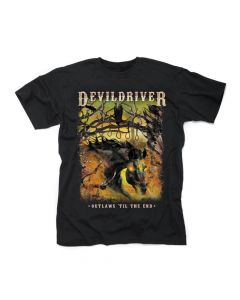 49817 devildriver outlaws 'til the end vol. 1 t-shirt