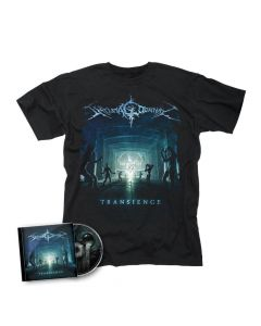 49854 shylmagoghnar transience t-shirt + cd bundle death metal