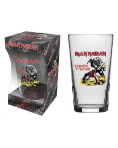 IRON MAIDEN - Number Of The Beast / Beer Glass