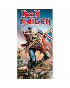 iron maiden the trooper towel