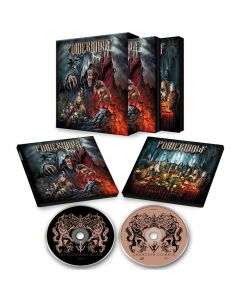 POWERWOLF - The Sacrament Of Sin /  2-Mediabook Edition + Slipcase