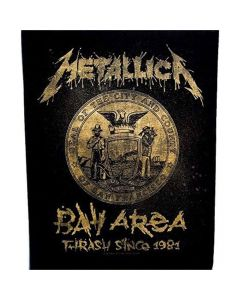 Metallica Bay Area Thrash backpatch