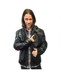 50801 alter bridge eagle leather jacket