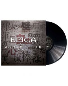 50819 epica epica vs. attack on titans songs black lp gothic metal