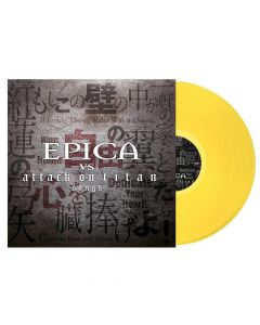 50820 epica epica vs. attack on titans songs yellow lp gothic metal