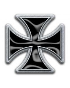 IRON CROSS - Iron Cross / Metal Pin Badge