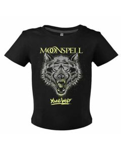 moonspell young wolf black baby shirt