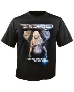 doro forever warriors forever united shirt