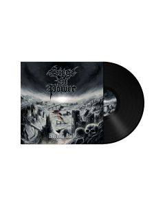 SIEGE OF POWER - Warning Blast / BLACK LP