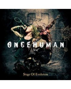 ONCE HUMAN - Stage of Evolution / Digipak CD
