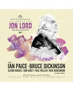 Celebrating Jon Lord: The Rock Legend Vol.1 / BLACK LP + Blu-Ray