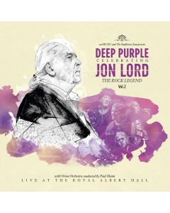 Celebrating Jon Lord: The Rock Legend Vol.2 / BLACK 2-LP + Blu-Ray Gatefold