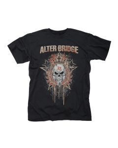 51316 alter bridge royal skull t-shirt