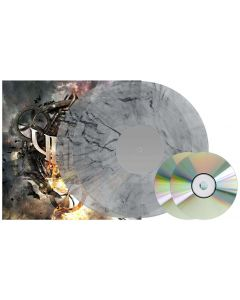 Rise / CLEAR BLACK Marbled 2-LP Gatefold