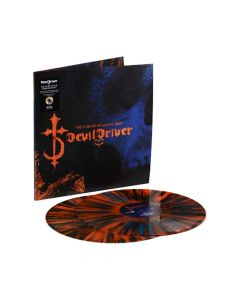 52309 devildriver the fury of our maker's hand blue orange splatter 2-lp death metal