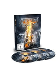Accept Symphonic Terror Live At Wacken 2017 DVD and 2 CD