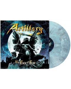 The Face of Fear / OPAQUE GREY BLUE Marbled LP