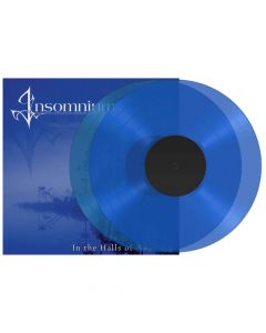 53314 insomnium in the halls of awaiting transparent blue 2-lp death metal