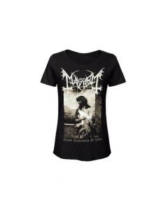 MAYHEM - Grand Declaration Of War / Girlie T- Shirt