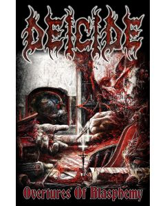 deicide - overtures of blasphemy -flagge