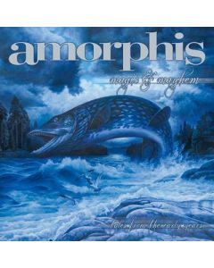 AMORPHIS - Magic And Mayhem - Tales From The Early Years / CLEAR/ORANGE/RED Splatter 2-LP Gatefold