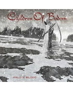 CHILDREN OF BODOM - Halo Of Blood / WHITE/RED/BLACK Splatter LP