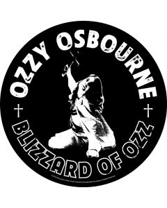 Blizzard Of Ozz / Backpatch