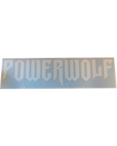 POWERWOLF - Logo / Car Window Sticker